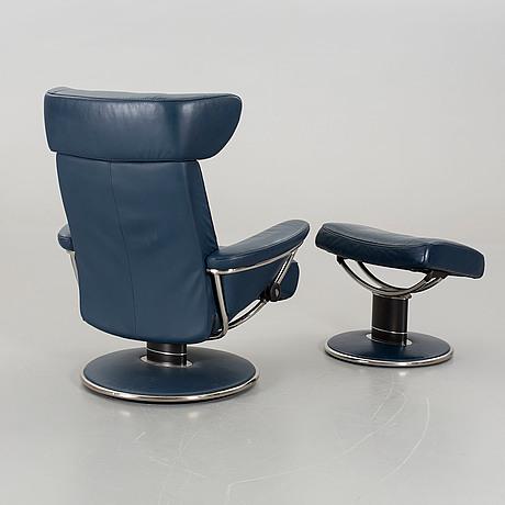 Stressless Alternative a ekornes stressless jazz lounge chair and a stool bukowskis