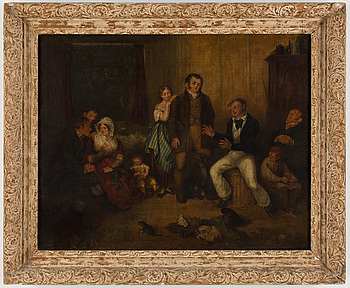 EDWARD VILLIERS RIPPINGILLE, EDWARD VILLIERS RIPPINGILLE, oil on canvas, signed and dated 1834.