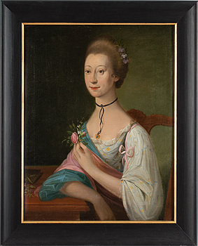 OKÄND KONSTNÄR, 1700-TAL. olja på duk, ej signerad.
