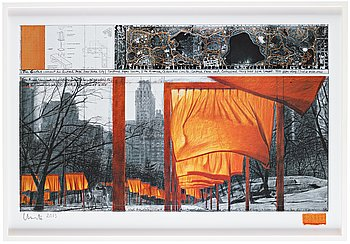 "212. Christo & Jeanne-Claude, ""The Gates, Central Park, New York""."