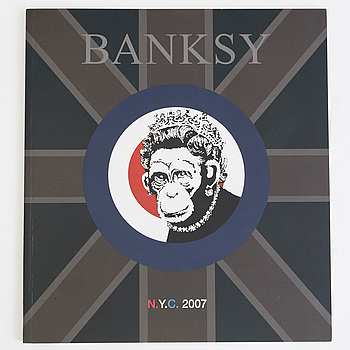 BANKSY, after, N.Y.C show, 2007. catalogue, ed 1000, offset, show by Vanina Holasek Gallery.