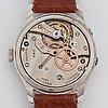 "E. gÜbelin, lucerne, ""triple date"", wristwatch, 34 mm."