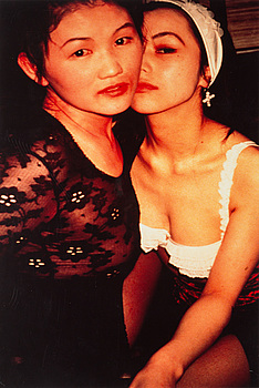 NAN GOLDIN, cibachrome print, signed and dated 1994-1995 on verso.
