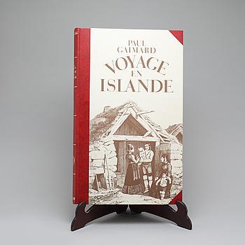 """BOK, """"Voyage en Islande et au Groenland"""", Gaimard, Paul, 1982."""