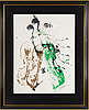 Fernandez arman, serigraph in colors, signed and numbered 171/200.