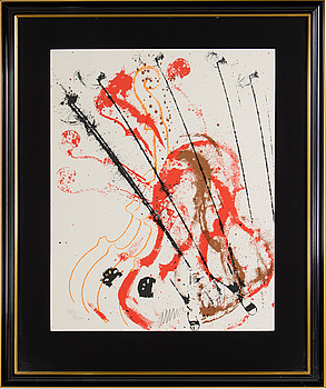 FERNANDEZ ARMAN, FERNANDEZ ARMAN, serigraph in colors, signed and numbered 171/200.