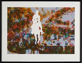 MAX MIKAEL BOOK, lithograph in colors, signed and numbered 143/250, dated -90.