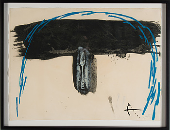 ANTONI TÀPIES, ANTONI TÀPIES, carborundum ecthing, signed and numbered HC.