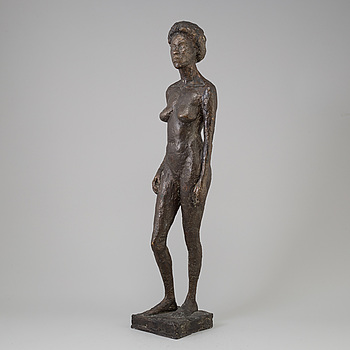 BIANCA MARIA BARMEN, sculpture, bronze, signed BMB and dated -88.