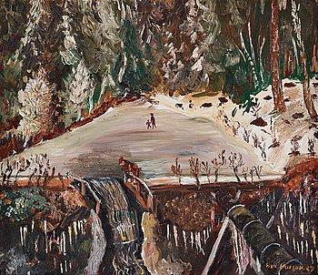 "227. SVEN X:ET ERIXSON, ""Vinter 1927""."