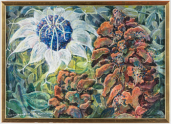 KARL AXEL PEHRSON, oil on canvas, signed and dated -65.