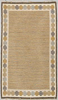 MATTA, rölakan, signerad IS (Ingegerd Silow), ca 288 x 185 cm.