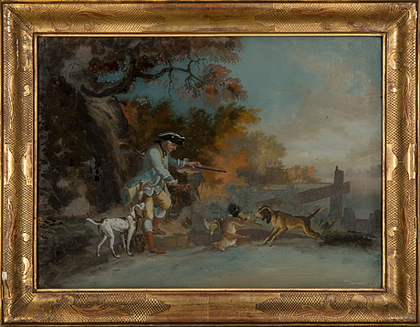 Unknown artist, hunting.