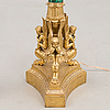 A pair of candelabra stems, russai early 19th century