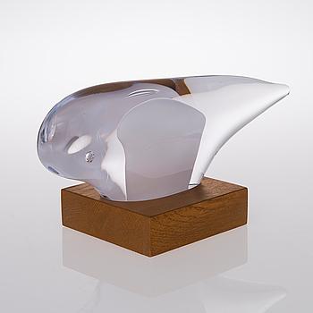 PAULI PARTANEN, glasskulptur, signerad Pauli Partanen. Tillverkningsår 2013.