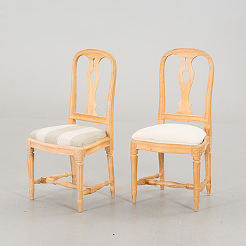 "IKEA, 2 pcs of IKEA chairs, ""Hallunda"", late 20th century,"