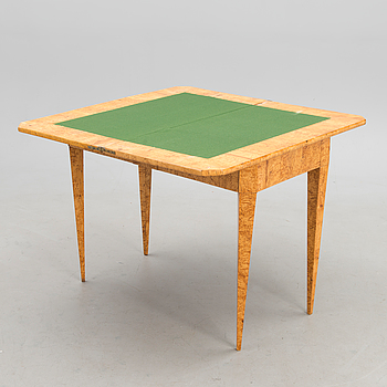 A RUSSIAN GAME TABLE, early 19th century.