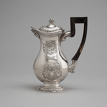Ivan Frolov, kanna, silver, S:t Petersburg 1757.