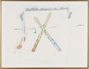 LENNART ASCHENBRENNER, färglitografi, signerad och numrerad 56/75, daterad -84.