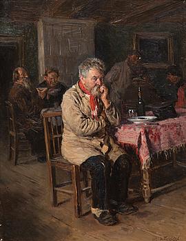 VLADIMIR MAKOVSKI, IN THE TAVERN.