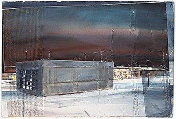 "75. Lars Lerin, ""Lofoten""."