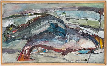 STAFFAN HALLSTRÖM, oil on canvas, signed.