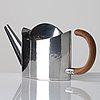 Sigurd persson, a sterling teapot, stockholm 1999, executed by lars munkhammar.