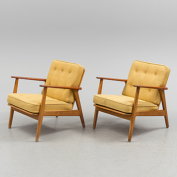 "FÅTÖLJER, ett par, ""Esbjerg"", IKEA, 1950/60-tal."
