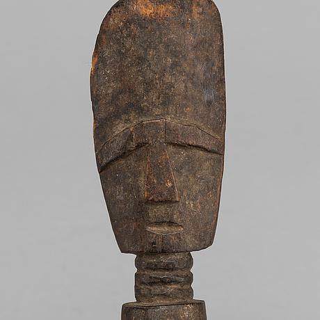 A fertility figure, akuaba, ashanti, ghana.