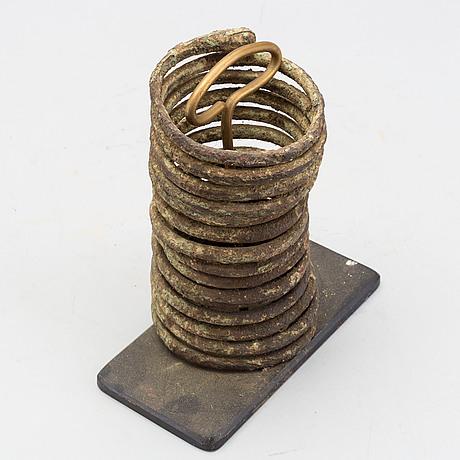 Bracelet / currency, igbo ibo,  nigeria.