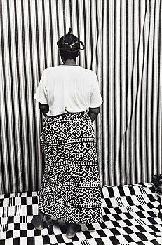 """144. Malick Sidibé, """"Vue de dos"""", 1990."""