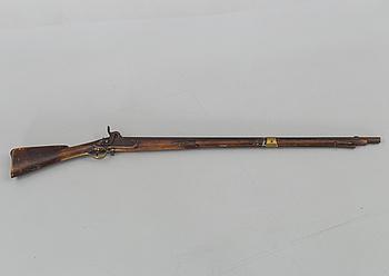 SLAGLÅSGEVÄR, Norrtälje faktori, m/1815-45, stämplad 1836,