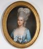 OkÄnd konstnÄr. pastell, 1700/1800-tal.