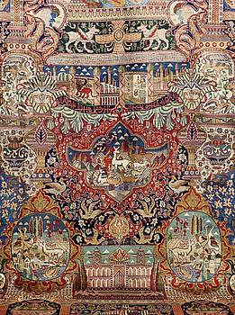MATTA, Figural Kashmar, 380 x 295 cm.