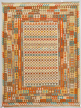 KELIM, orientalisk, 352 x 263 cm.