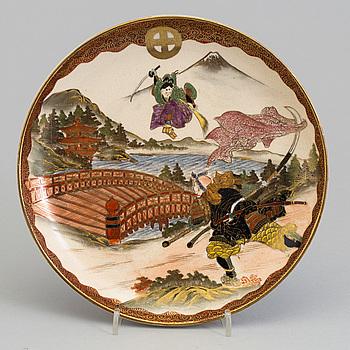 FAT, porslin, satsuma, Japan, 1900-talets början.