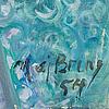 Maj bring, panel, signed maj bring and dated  54