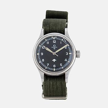 "OMEGA, ""RAF"", ""British Ministry of Defence"", wristwatch, 37 mm,"