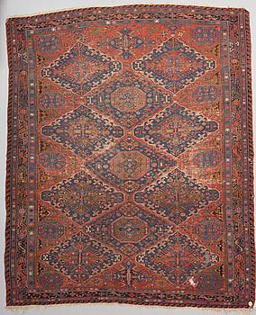 MATTA. Antik Östkaukasisk Soumak. Ca 370 x 303 cm.