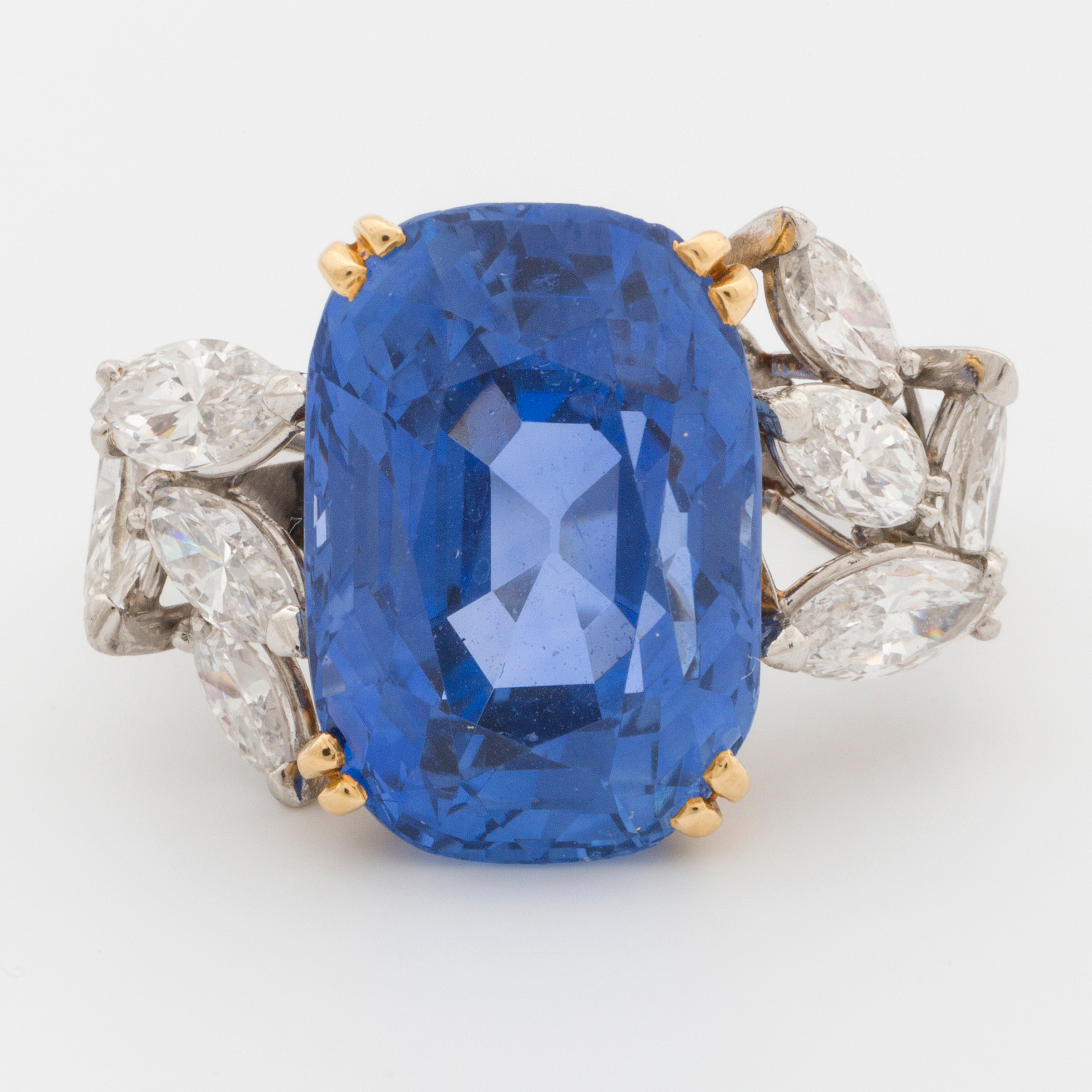 diamond squared blue marquise ctw size l gold white ring sapphire