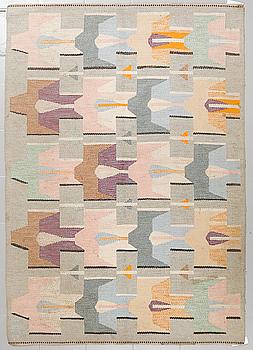 AGDA ÖSTERBERG, matta, rölakan, signerad AÖ, 220 x 152 cm.