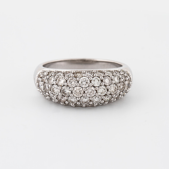 RING, med briljantslipade diamanter 16.1 ct.