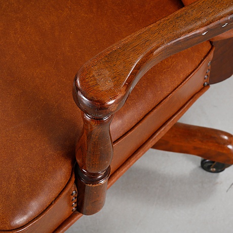 Photo Bukowskis & A desk chair from The Marble u0026 Shattuck Chair Company in Ohio ...