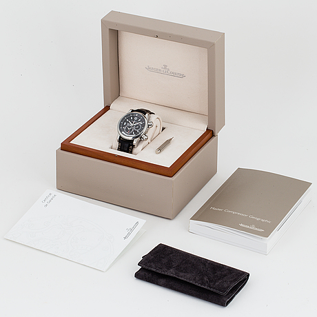 Jaeger-lecoultre, master compressor, geographic, wristwatch, 42 mm,