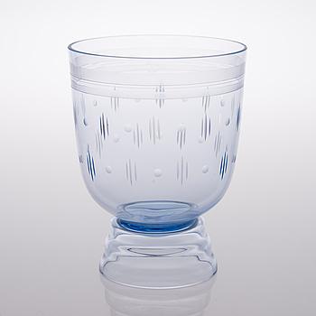 GÖRAN HONGELL, VAS, glas, Karhula 1930-tal.