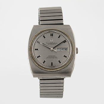 OMEGA, Constellation, Chronometer, wristwatch, 36 x 40,5 mm.