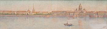 F. KLIMENKO, akvarell, signerad och daterad 1913.