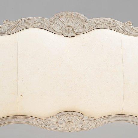 Soffa, stockholmarbete 1700-talets andra hälft, rokoko.