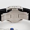 Cartier, santos 100, wristwatch, 38 x 38(51) mm.