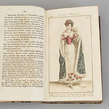 "BOK, ""Journal des Dames et des Modes"", 1820."